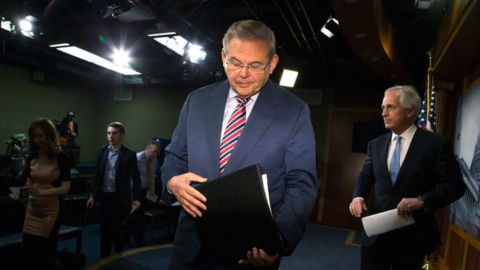 Robert Menendez.(Reuters / Jonathan Ernst)