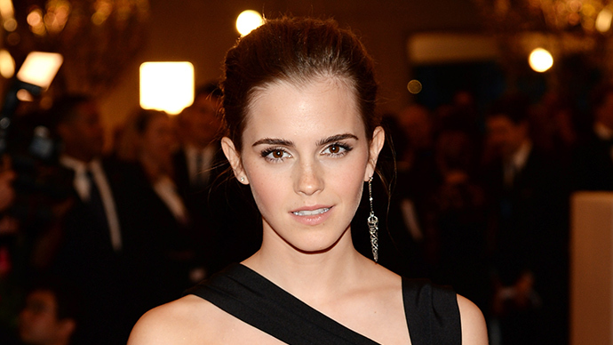 Actress Emma Watson (AFP Photo / Dimitrios Kambouris)