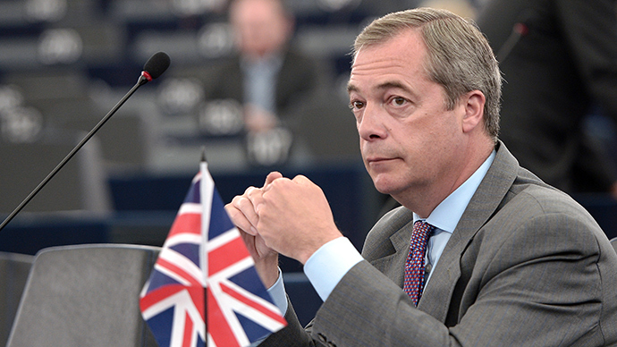 Leader of the UK Independence Party (UKIP) Nigel Farage (AFP Photo)