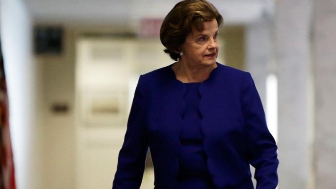 Senator Dianne Feinstein.(Reuters / Gary Cameron)