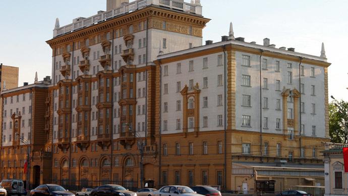The U.S. Embassy in Moscow (RIA Novosti/Iliya Pitalev)