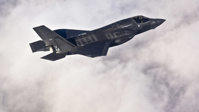 F-35 fighter jet (Reuters)