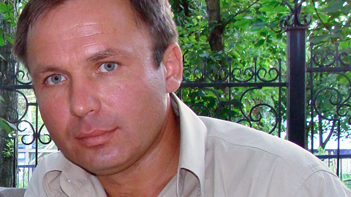Russian pilot Konstantin Yaroshenko (RIA Novosti)