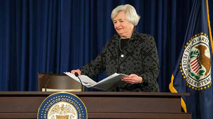 U.S. Federal Reserve Chair Janet Yellen (Reuters / Jonathan Ernst)