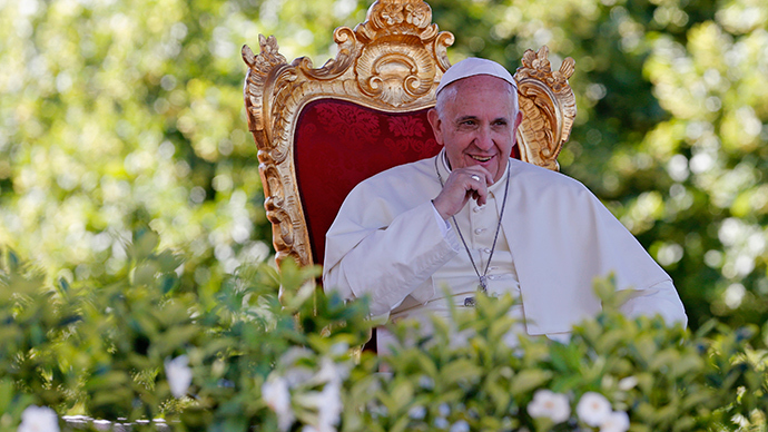 Pope Francis (Reuters / Giampiero Sposito)