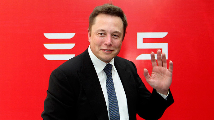 Elon Musk, CEO of Tesla Motors (Reuters / Stringer)