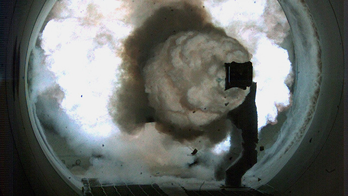 AFP Photo / US Navy photo by John F. Williams / HO