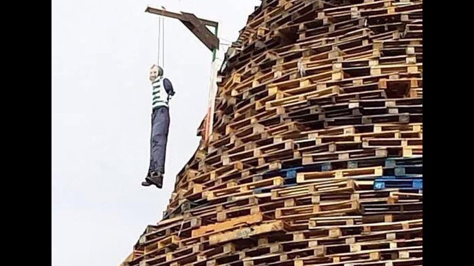 Image from facebook.com/ballycraigy.bonfire