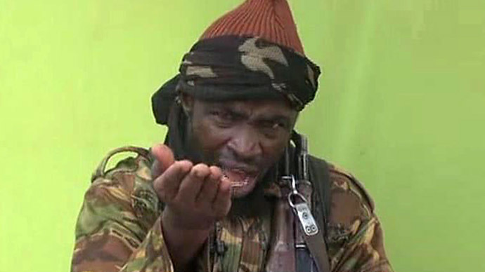 A screengrab taken on May 12, 2014, from a video released by Nigerian Islamist extremist group Boko Haram and obtained by AFP shows a man claiming to be the leader of Nigerian Islamist extremist group Boko Haram Abubakar Shekau. (AFP Photo/Boko Haram)