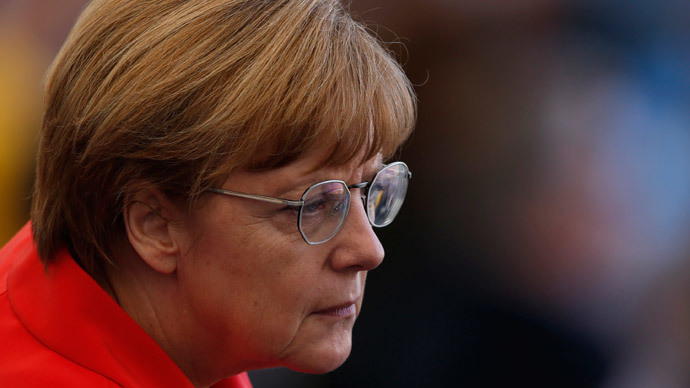 German Chancellor Angela Merkel.(Reuters / David Gray)