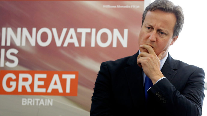 Britain's Prime Minister David Cameron.(AFP Photo / Kirsty Wigglesworth)