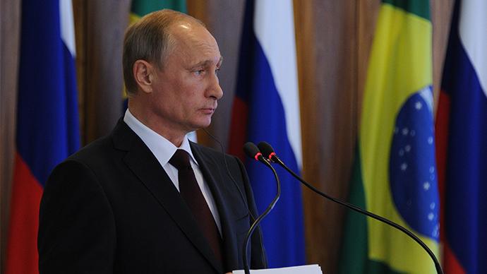 Russian President Vladimir Putin (RIA Novosti / Michael Klimentyev)