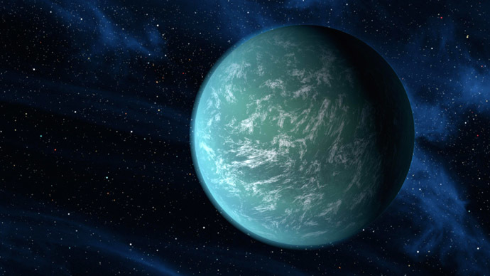 An artist's impression of an exoplanet (Image from Wikipedia.org)