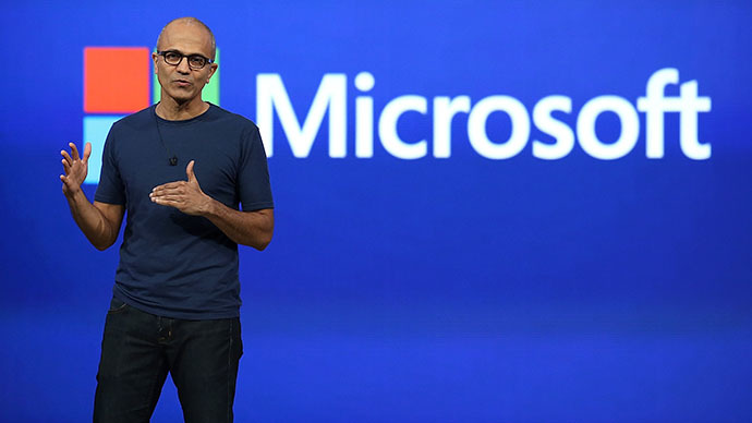 Microsoft CEO Satya Nadella (AFP Photo / Getty Images / Justin Sullivan)