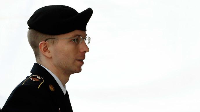 U.S. soldier Bradley Manning.(Reuters / Kevin Lamarque)