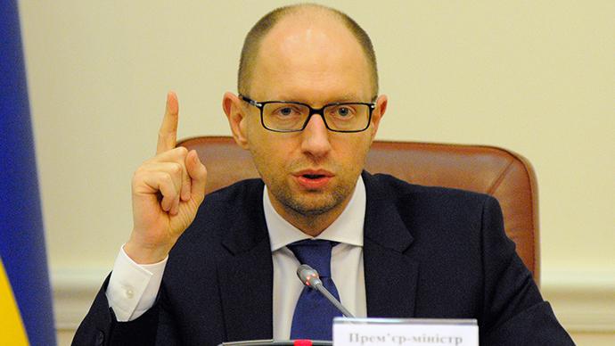 Ukrainian Prime Minister Arseny Yatsenyuk (RIA Novosti / Alexandr Maksimenko)