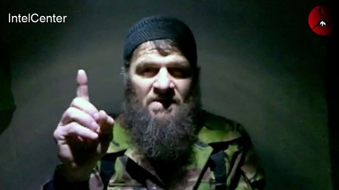 This undated handout image recieved on February 8, 2011 from the SITE Intelligence Group shows Doku Umarov, the leader of the Islamic Emirate of the Caucasus. (AFP Photo)