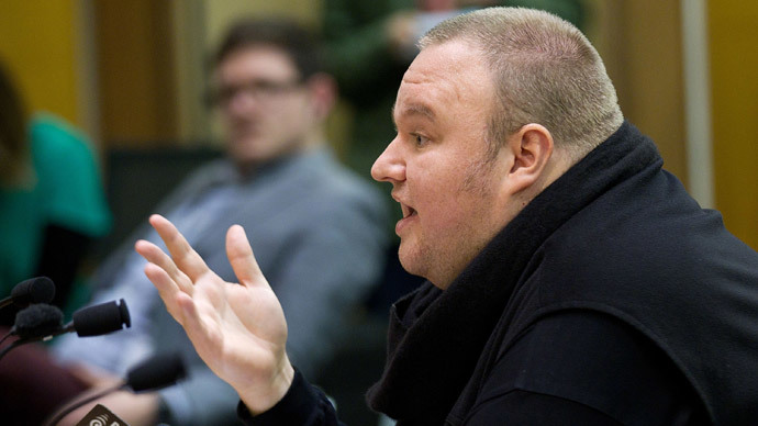 Megaupload founder Kim Dotcom.(AFP Photo / Marty Melville )