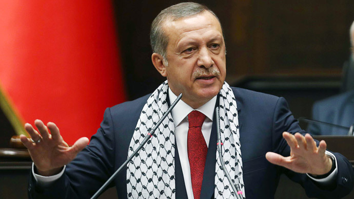 Turkish Prime Minister Recep Tayyip Erdogan (AFP Photo / Adem Altan)