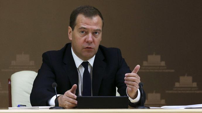 Russian Prime Minister Dmitry Medvedev (RIA Novosti/Ekaterina Shtukina)