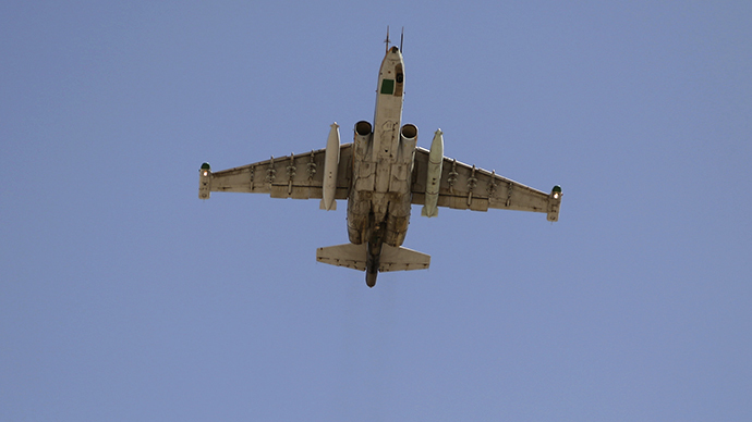 FILE Photo. Su-25 fighter plane (Reuters)