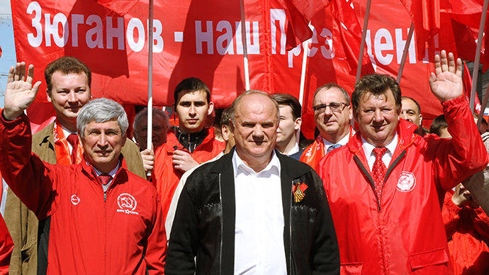 Gennady Zyuganov, Head of the Communist Party of the Russian Federation. (RIA Novosti / Vladimir Fedorenko)