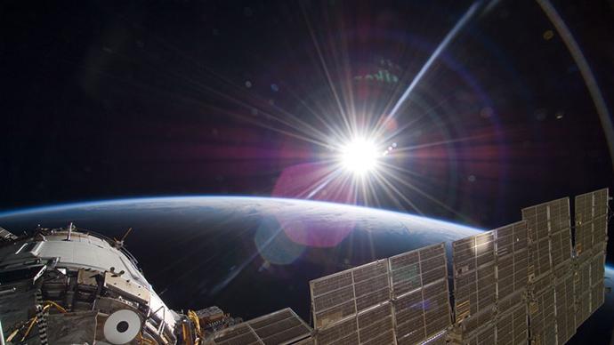 Credit: STS-129 Crew, NASA