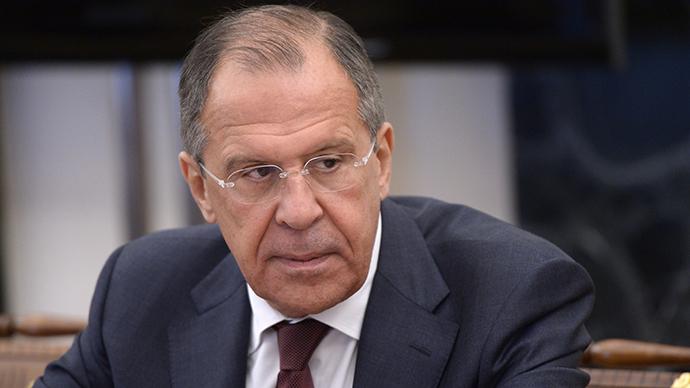 Russia's Foreign Minister Sergey (RIA Novosti / Alexey Nikolsky)