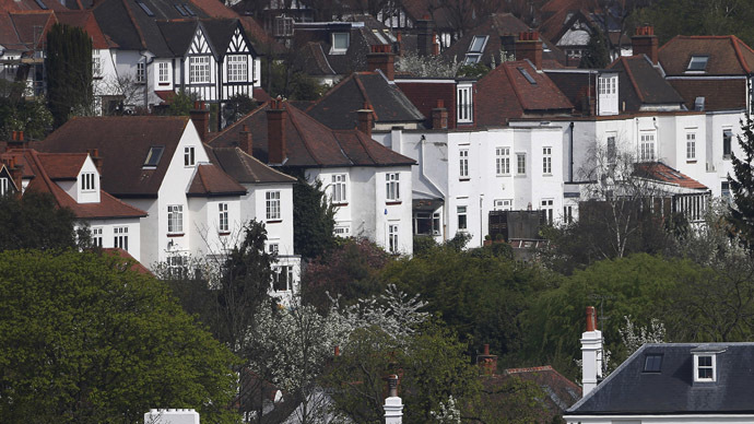 London's rental prices eclipse those in the rest of the UK by 100 per cent, according to newly published research. (Reuters/Suzanne Plunkett)
