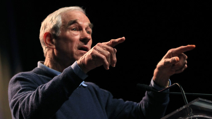 Former congressman Ron Paul (Reuters/Robert Galbraith)