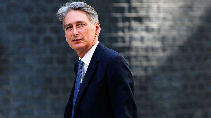 Britain's Foreign Secretary Philip Hammond (Reuters / Suzanne Plunkett)