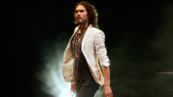 British comedian Russell Brand (Reuters / Olivia Harris)