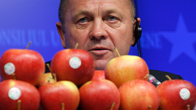 Poland's Agriculture Minister Marek Sawicki (Reuters / Francois Lenoir)