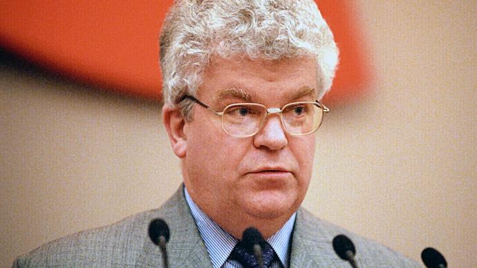 Russia's permanent representative to the EU Vladimir Chizhov (RIA Novosti)