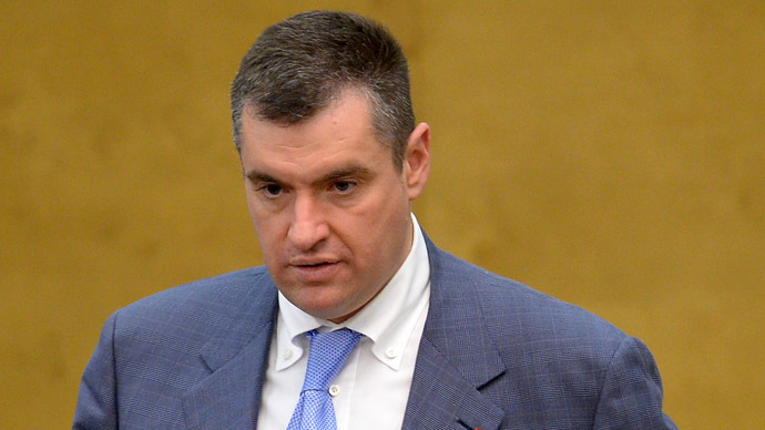 Leonid Slutsky, chairperson of the Russian State Duma Committee on the Commonwealth of Independent States, Eurasian Integration and Links with Compatriots (RIA Novosti)