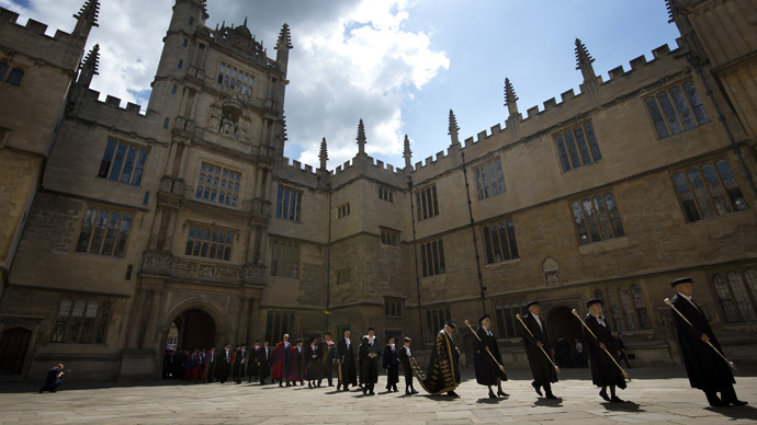 Oxford University in Oxford, northwest of London (AFP Photo / Ben Stansall)