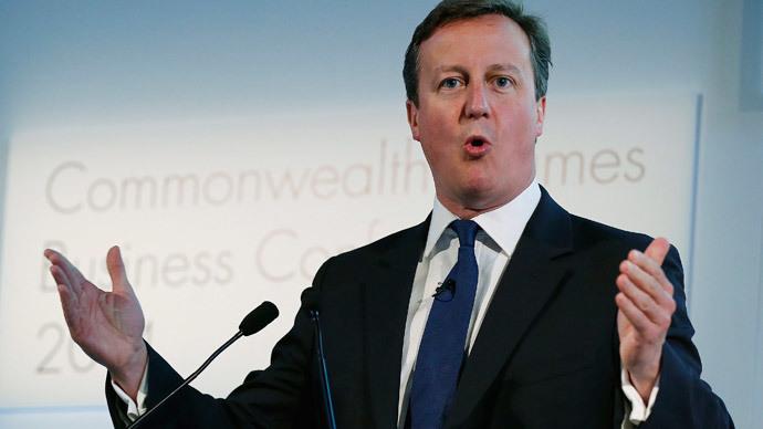 Britain's Prime Minister David Cameron.(Reuters / Suzanne Plunkett)
