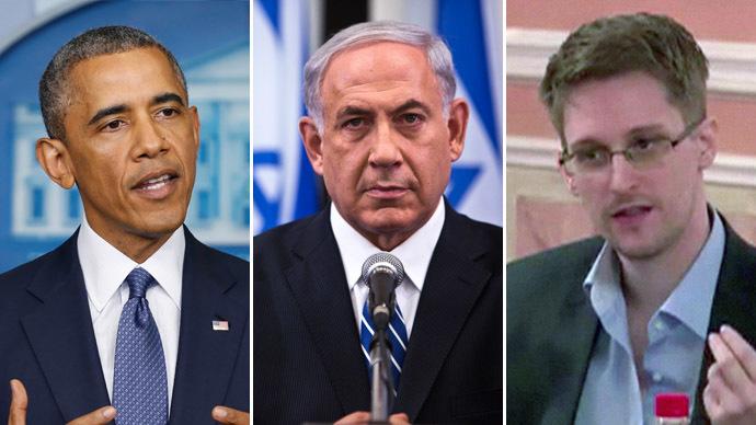 US President Barack Obama, Israel's Prime Minister Benjamin Netanyahu, Edward Snowden (Reuters/AFP Photo)