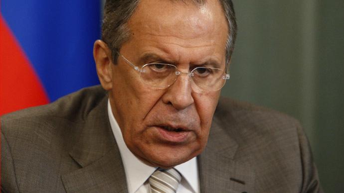 Russian Foreign Minister Sergey Lavrov (Reuters/Sergei Karpukhin)