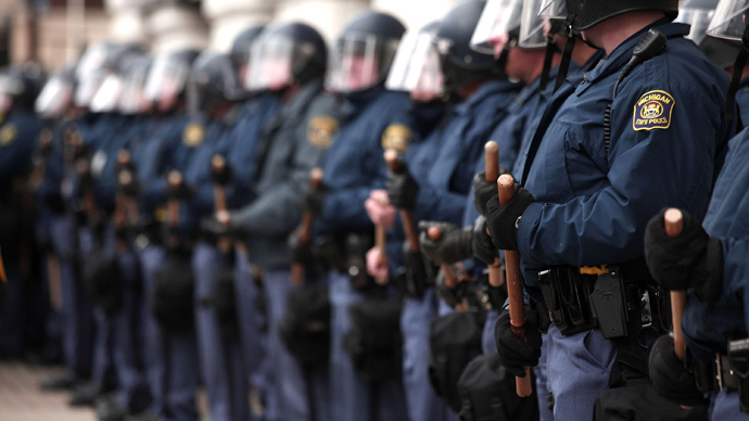 Michigan State Police (Bill Pugliano / Getty Images / AFP)