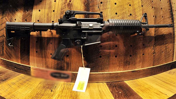 AR-15 (AFP Photo)