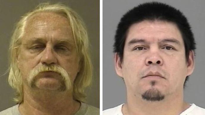 William Earl Cunningham (L) and Nathaniel Horn (Mugshots released by officials.)