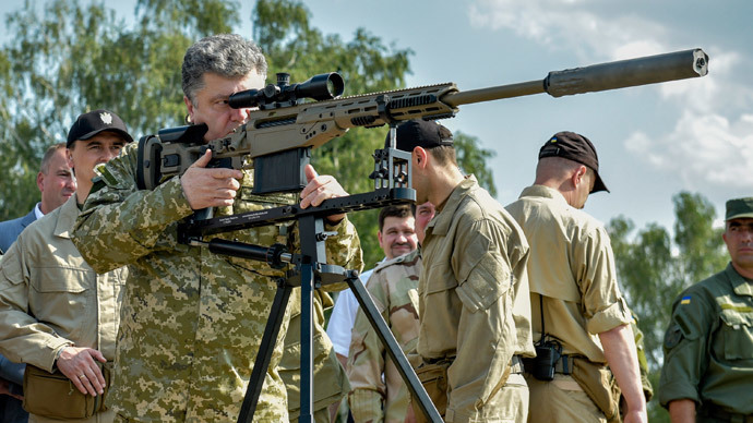 Ukraine's President Petro Poroshenko.(Reuters / Mykola Lazarenko)