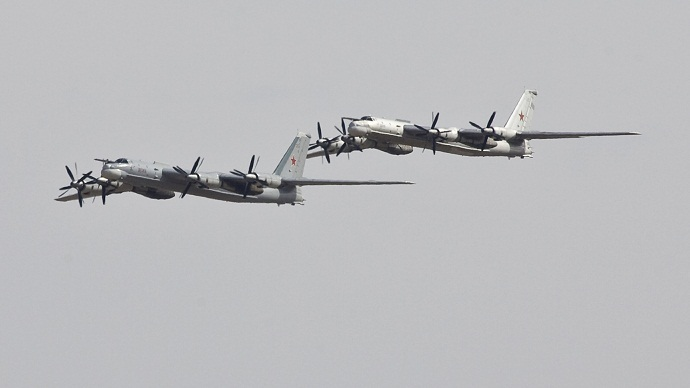 Russian Tu-95 bombers (Reuters/Shamil Zhumatov)