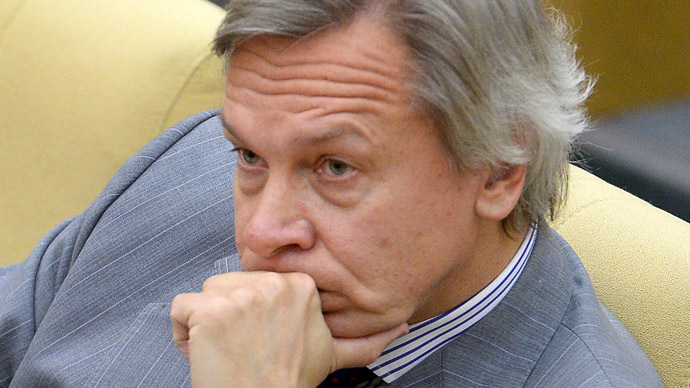 Chairman of the State Duma Committee on Foreign Affairs Alexei Pushkov (RIA Novosti/Vladimir Fedorenko)
