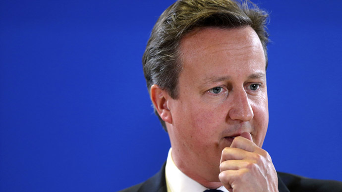 Britain's Prime Minister David Cameron (Reuters/Pascal Rossignol)