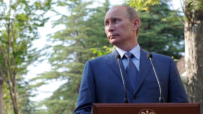 Russian President Vladimir Putin (RIA Novosti/Alexei Druzhinin)