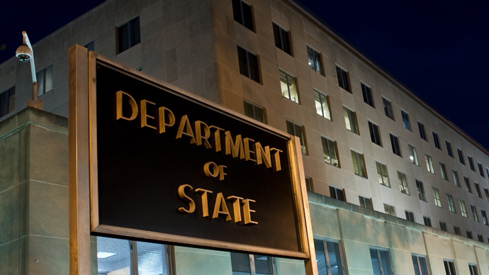 The US State Department in Washington, DC. (AFP Photo / Nicholas Kamm)