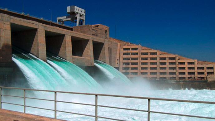 The Haditha Dam (Photo from Wikipedia.org)