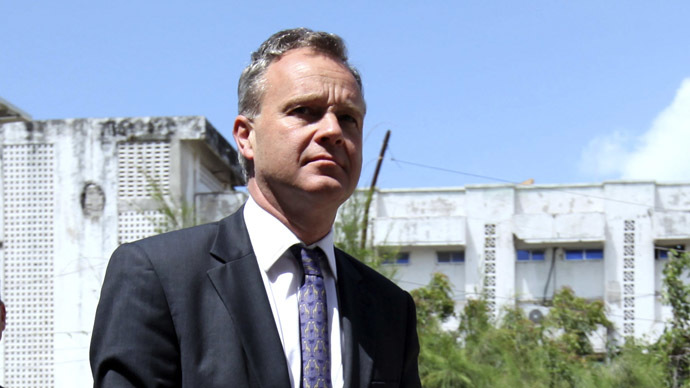 United Kingdom's Minister for Africa Mark Simmonds (Reuters/Omar Faruk)